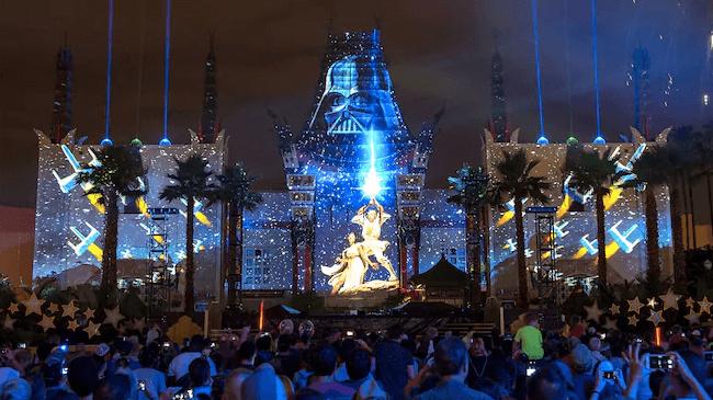 Evento Star Wars: Galactic Nights na Disney Orlando: Star Wars: A Galactic Spectacular