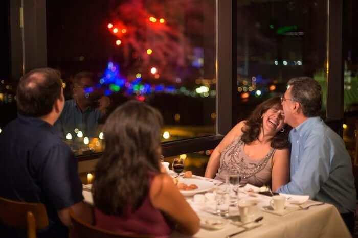 Reveillon em Orlando: Restaurantes