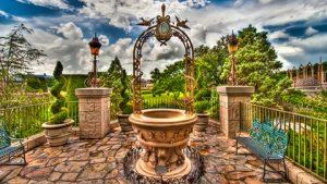 Pedidos de casamento na Disney e Orlando: Cinderella's Wishing Well - Fonte dos Desejos