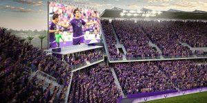Assistir um jogo de futebol do Orlando City