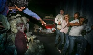 At Universal Studios Hollywood Halloween Horror Nights. Photo by David Sprague