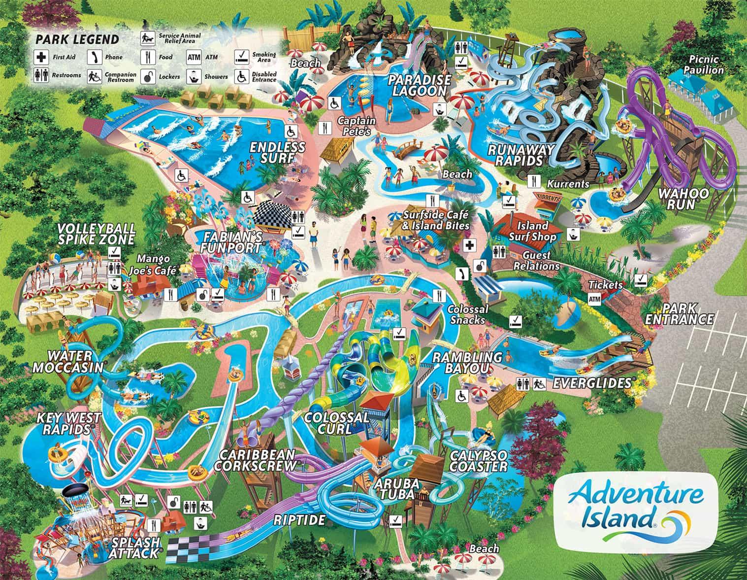 Parque Adventure Island Tampa Orlando Dicas Da Disney E