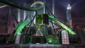 Novidades da montanha-russa do Hulk em Orlando
