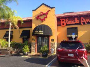 7 restaurantes para comer em Kissimmee: Black Angus