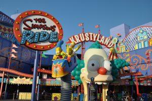 Brinquedo dos Simpsons em Orlando: The Simpsons Ride