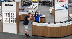 Lojas de eletrônicos Best Buy em Orlando: Canon e Nikon