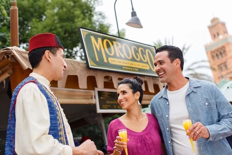 International Food and Wine Festival no Disney Epcot Orlando: Morocco (Marrocos)