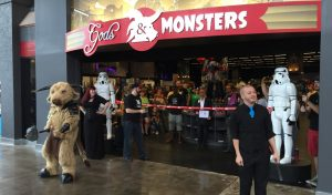 Loja Gods & Monsters em Orlando