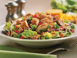 Padaria e restaurante Perkins em Orlando: salada