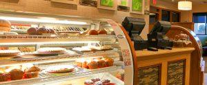 Padaria e restaurante Perkins em Orlando: vitrine