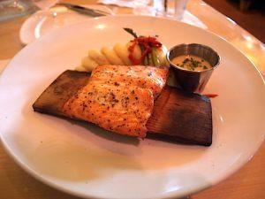 Restaurante Mythos no parque Islands of Adventure Orlando: comida