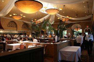Restaurante italiano Brio em Orlando: ambiente interior