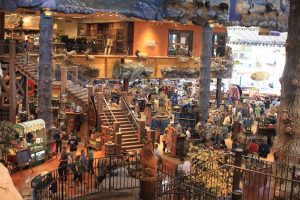 7 lojas e outlets na International Drive Orlando: loja Bass Pro Shops Outdoor World