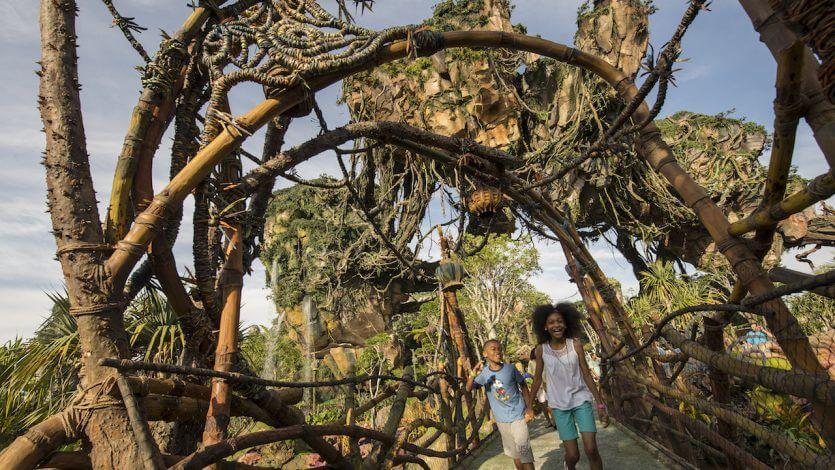 Mundo de Avatar na Disney Orlando