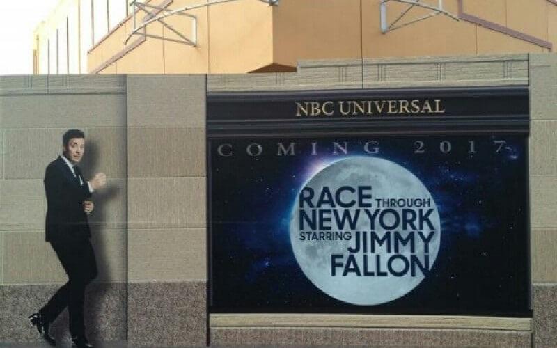 Novas atrações em Orlando para 2017: Race Through New York Starring Jimmy Fallon Ride