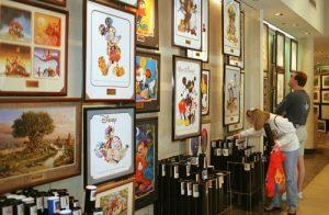 Locais de comprasno Walt Disney World Orlando: loja The Art of Disney