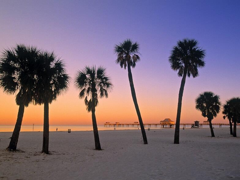 Passeios de um dia em Orlando: Clearwater Beach