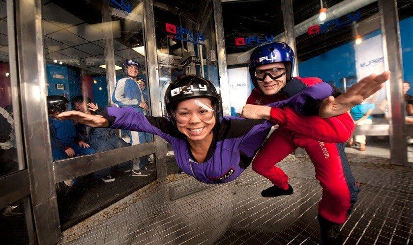 7 atrações fora dos parques de Orlando: iFly