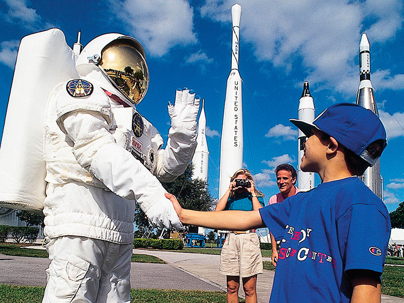 Atrações além dos parques de Orlando: Kennedy Space Center