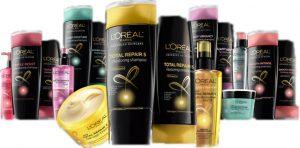 Shampoos e produtos da L'Oreal em Orlando