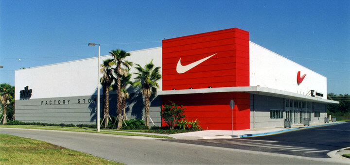 NIKE Factory Store, located at Orlando Vineland Premium Outlets®: Nike brings inspiration and innovation to every athlete. Experience sports, training, shopping and everything else that's new at Nike in Men's, Women's and Kids apparel and footwear. Come visit the Nike Factory Store today.