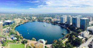 Parque Lake Eola em Orlando
