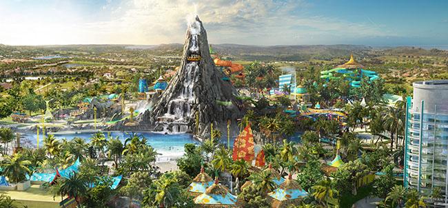 Complexo Universal Studios em Orlando: parque Islands of Adventure: parque Volcano Bay