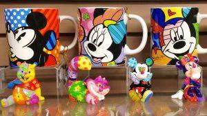 Produtos do Romero Britto na Disney Orlando
