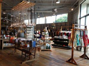 Lojas Anthropologie em Orlando: dentro da loja