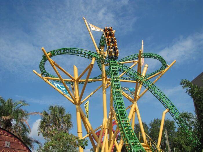 Montanha Russa Cheeta: Parque Busch Gardens Tampa
