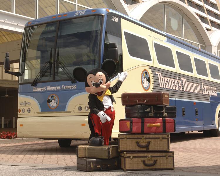 Ônibus Disney Magical Express em Orlando: Mickey