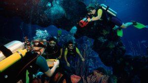Mergulho no Epcot na Disney Orlando