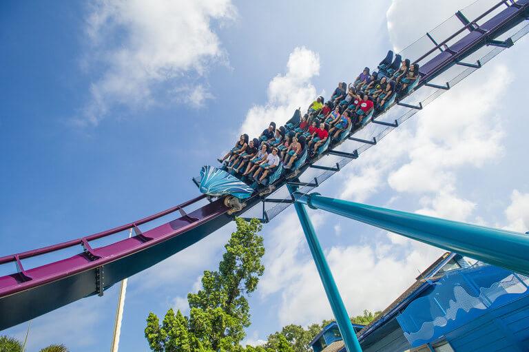 7 atrações e brinquedos do Parque SeaWorld em Orlando: Mako