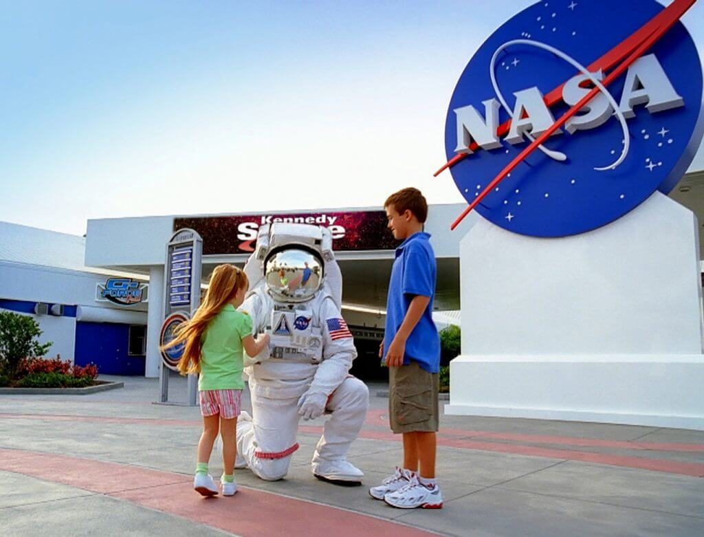 Merritt Island próxima a Orlando: Kennedy Space Center da NASA
