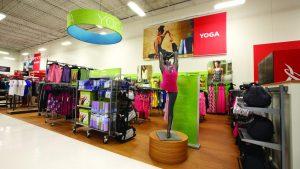 Lojas Sports Authority em Orlando: produtos