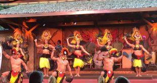 Jantar havaiano na Disney em Orlando 1