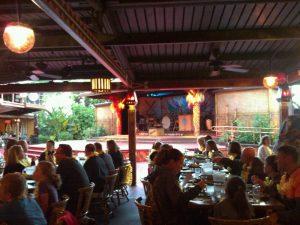 Jantar havaiano na Disney em Orlando