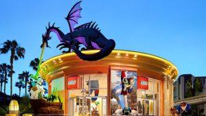Comprar lembrancinhas nas melhores lojas Disney: LEGO Store