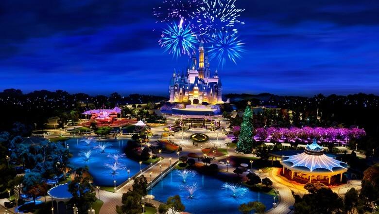 Monte sua programação dos parques Disney em Orlando: show de fogos de artifício