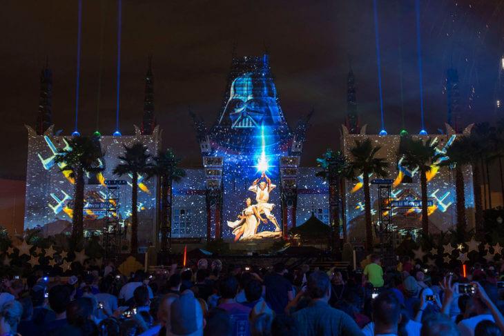 Shows do Star Wars no Disney Hollywood Studios: Star Wars: A Galactic Spectacular
