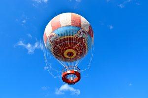 Passeio de balão no Disney Springs em Orlando