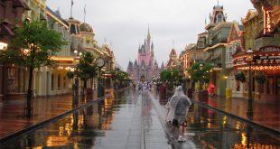 Chuva nos parques da Disney em Orlando