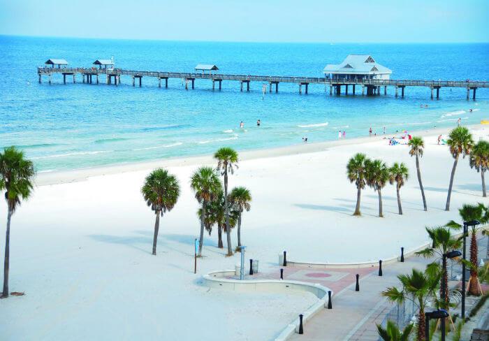 Cidades legais perto de Orlando: Clearwater