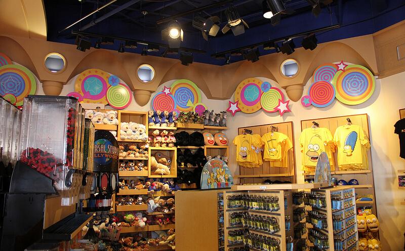 Melhores lojas para compras na Universal CityWalk em Orlando: loja Universal Studios Store