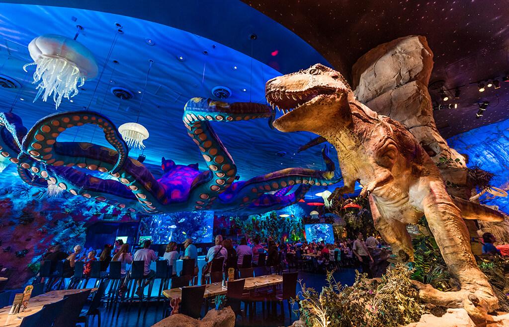 Downtown Disney T Rex Restaurant Menu