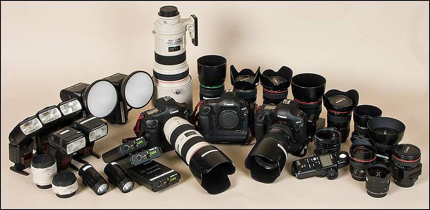 Loja de fotos Harmon Photo em Orlando: câmeras fotográficas