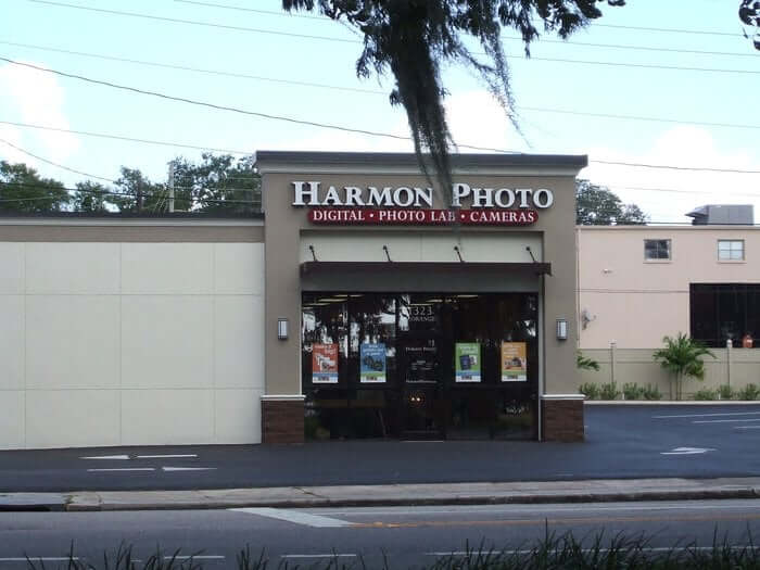 Loja de fotos Harmon Photo em Orlando