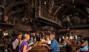 Restaurante 3 Vassouras do Harry Potter em Orlando: interior do restaurante