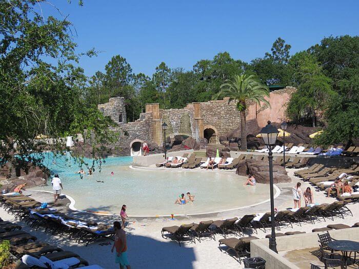 Hotel Loews Portofino Bay da Universal em Orlando: piscina do hotel
