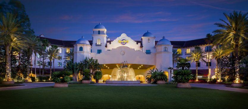 Hotéis próximos aos parquesem Orlando: Hard Rock Hotel